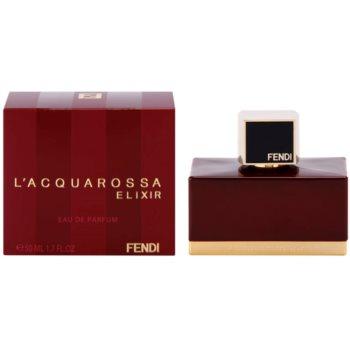 Fendi L'Acquarossa Elixir eau de parfum per donna 50 ml