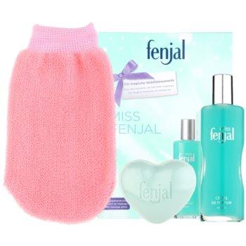 Fenjal Miss Classic kit regalo I emulsione corpo 100 ml + sapone 90 g + guanto per massaggi