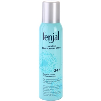 Fenjal Sensitive deodorante spray per pelli sensibili (24-hour Protection) 150 ml