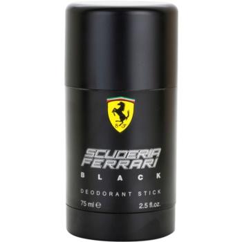 Ferrari Scuderia Ferrari Black deodorante stick per uomo 75 ml