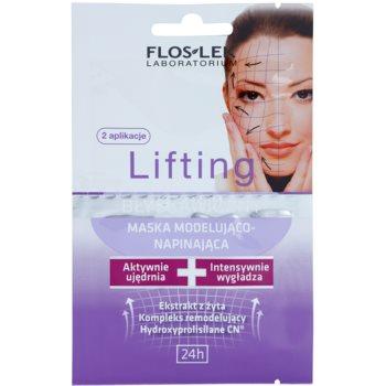 FlosLek Laboratorium Lifting Immediate maschera viso effetto modellante 2 x 5 ml