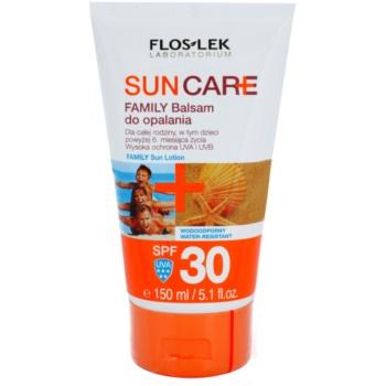 FlosLek Laboratorium Sun Care balsamo abbronzante per bambini e adulti SPF 30 (Waterproof) 150 ml