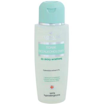 FlosLek Pharma Hypoallergic Line lozione tonica viso senza alcool (Calendula Extract 2%) 150 ml