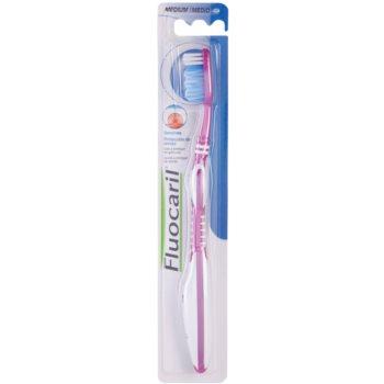 Fluocaril Gums spazzolino da denti medium Pink