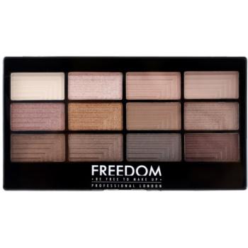 Freedom Pro 12 Audacious 3 palette di ombretti con applicatore 12 g