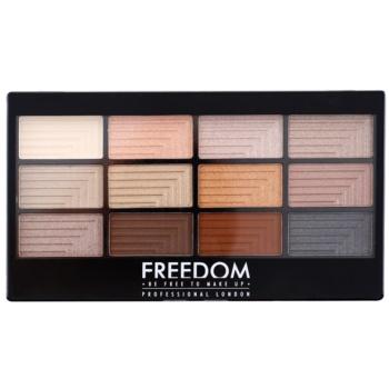 Freedom Pro 12 Le Fabuleux palette di ombretti con applicatore 12 g