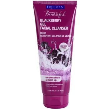 Freeman Feeling Beautiful gel detergente Blackberry (Gel Facial Cleanser) 175 ml