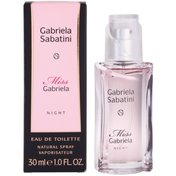 Gabriela Sabatini Miss Gabriela Night eau de toilette per donna 30 ml