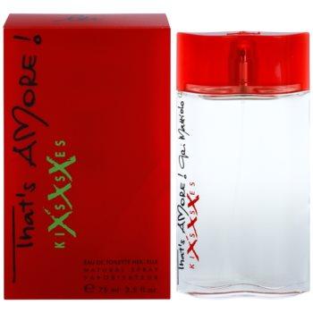 Gai Mattiolo That's Amore! Kisses XXX eau de toilette per donna 75 ml