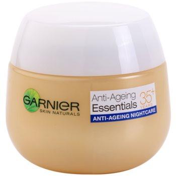 Garnier Essentials crema notte multiattiva antirughe 35+ (Night Multi-active Cream) 50 ml