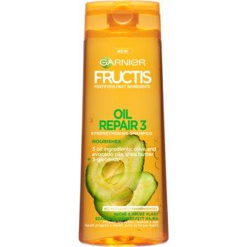 Garnier Fructis Oil Repair 3 shampoo rinforzante per capelli rovinati e secchi (Fortifying Shampoo) 250 ml