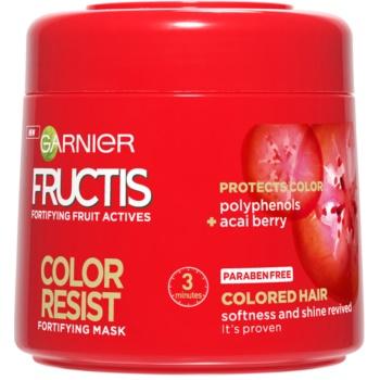 Garnier Fructis Color Resist maschera nutriente protezione colore (Nourishing Mask) 300 ml