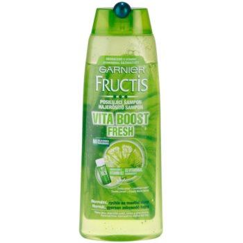 Garnier Fructis Fruit Explosions shampoo rinforzante per capelli normali e grassi (Citrus Mint Fresh) 250 ml