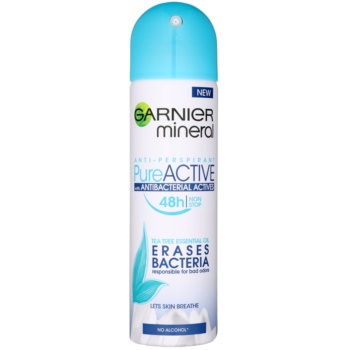 Garnier Mineral Pure Active antitraspirante antibatterico (Erases Bacteria) 150 ml