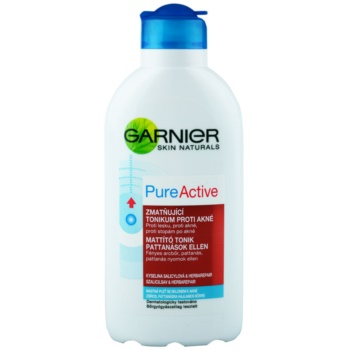Garnier Pure Active lozione tonica detergente per pelli problematiche, acne (Purifying Toner) 200 ml