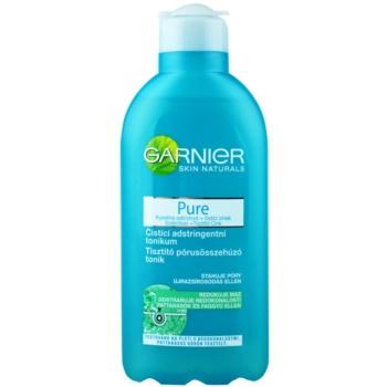 Garnier Pure lozione tonica detergente per pelli problematiche, acne (Pore purifying toner) 200 ml