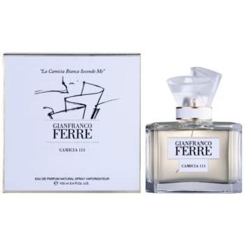 Gianfranco Ferré Camicia 113 eau de parfum per donna 100 ml