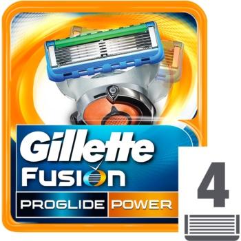 Gillette Fusion Proglide Power lame di ricambio 4 pz