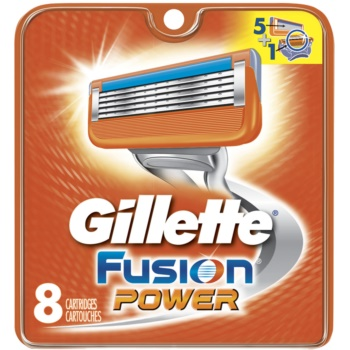 Gillette Fusion Power lame di ricambio 8 pz