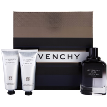 Givenchy Gentlemen Only Intense kit regalo I eau de toilette 100 ml + gel doccia 75 ml + balsamo post-rasatura 75 ml