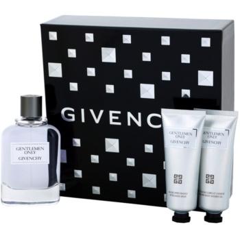Givenchy Gentlemen Only kit regalo V eau de toilette 100 ml + gel doccia 75 ml + balsamo post-rasatura 75 ml