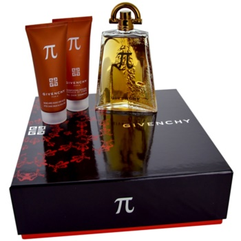 Givenchy Pí kit regalo I eau de toilette 100 ml + gel doccia 75 ml + balsamo post-rasatura 75 ml