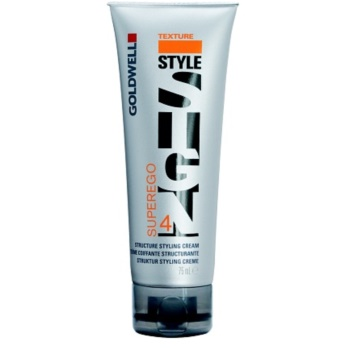 Goldwell StyleSign Texture crema modellante per la brillantezza (Superego Structure Styling Cream) 75 ml