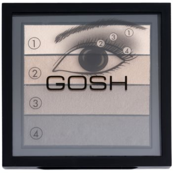 Gosh Smokey palette di ombretti colore 02 Brown 8 g