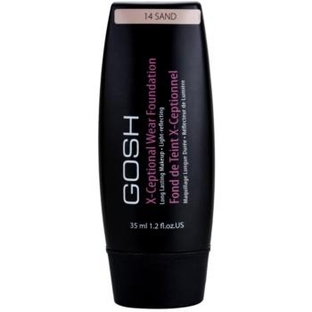 Gosh X-ceptional fondotinta lunga tenuta colore 14 Sand 35 ml
