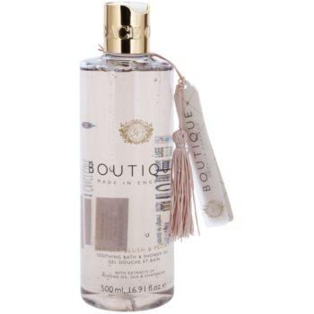 Grace Cole Boutique Vanilla Blush & Peony gel bagno e doccia lenitivo (With Extracts of Almond Oil, Silk & Champagne) 500 ml