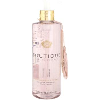 Grace Cole Boutique Vanilla Blush & Peony sapone liquido per le mani (With Extracts of Almond Oil, Silk & Champagne) 500 ml