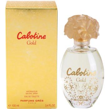 Gres Cabotine Gold eau de toilette per donna 100 ml