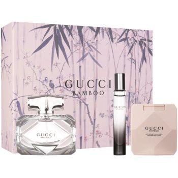 Gucci Bamboo kit regalo IV eau de parfum 75 ml + latte corpo 100 ml + eau de parfum 7,4 ml
