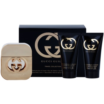 Gucci Guilty kit regalo VII eau de toilette 50 ml + gel doccia 50 ml + crema corpo 50 ml