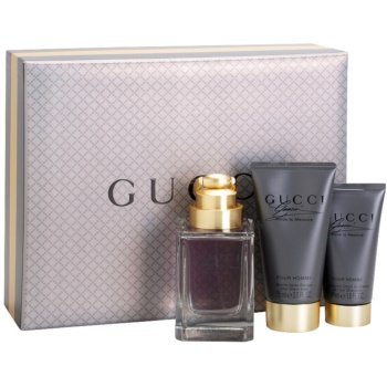 Gucci Made to Measure kit regalo I eau de toilette 90 ml + gel doccia 50 ml + balsamo post-rasatura 75 ml