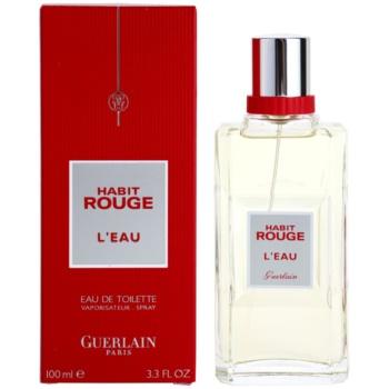 Guerlain Habit Rouge L´Eau eau de toilette per uomo 100 ml
