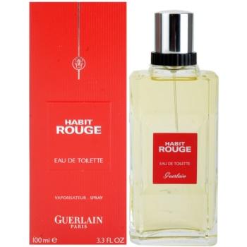 Guerlain Habit Rouge eau de toilette per uomo 100 ml