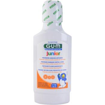 G.U.M Junior collutorio per bambini 7-12 years (Mouthwash) 300 ml