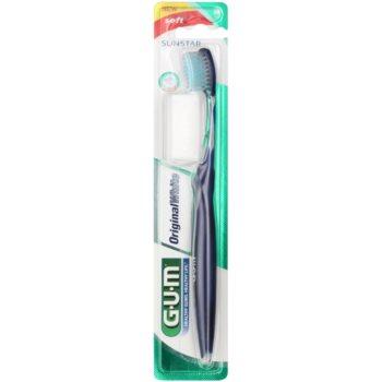 G.U.M Original White spazzolino da denti soft Dark Blue