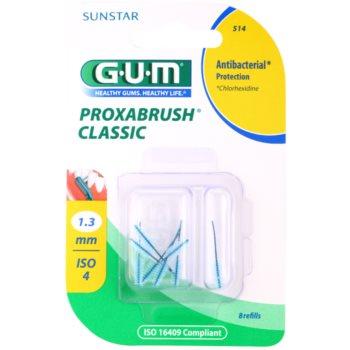 G.U.M Proxabrush Classic blister di scovolini interdentali di ricambio 8 pz 1,3 mm