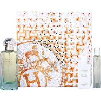 Hermès Un Jardin Sur Le Nil kit regalo IV. eau de toilette 100 ml + 15 ml + latte corpo 40 ml