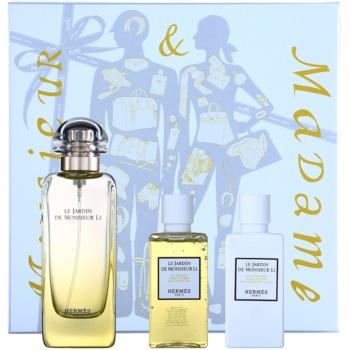 Hermès Le Jardin De Monsieur Li kit regalo II eau de toilette 100 ml + latte corpo 40 ml + gel doccia 40 ml