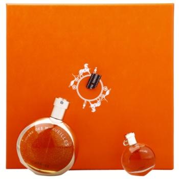 Hermès L'Ambre des Merveilles kit regalo II eau de parfum 50 ml + eau de parfum 7,5 ml