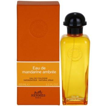 Hermès Eau de Mandarine Ambrée acqua di Colonia unisex 100 ml