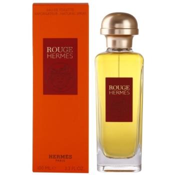 Hermès Rouge Hermes eau de toilette per donna 100 ml