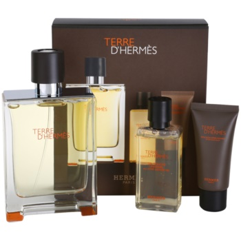 Hermès Terre D'Hermes kit regalo I eau de toilette 100 ml + gel doccia 40 ml + balsamo post-rasatura 15 ml