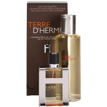 Hermès Terre D'Hermes kit regalo IV eau de toilette 30 ml + ricarica 125 ml