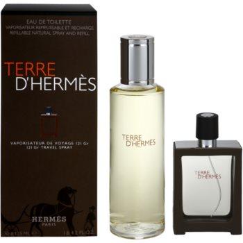 Hermès Terre D'Hermes kit regalo XVI eau de toilette ricaricabile 30 ml + eau de toilette ricarica 125 ml