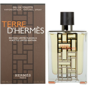 Hermès Terre D'Hermes H Bottle Limited Edition eau de toilette per uomo 100 ml