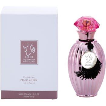 Hind Al Oud Pink Musk eau de parfum unisex 50 ml